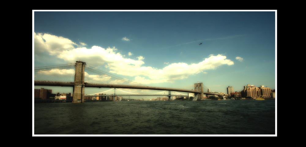 Brooklyn Bridge aus der anderen Perspektive