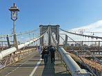 Brooklyn Bridge - der Klassiker - ohne Frau