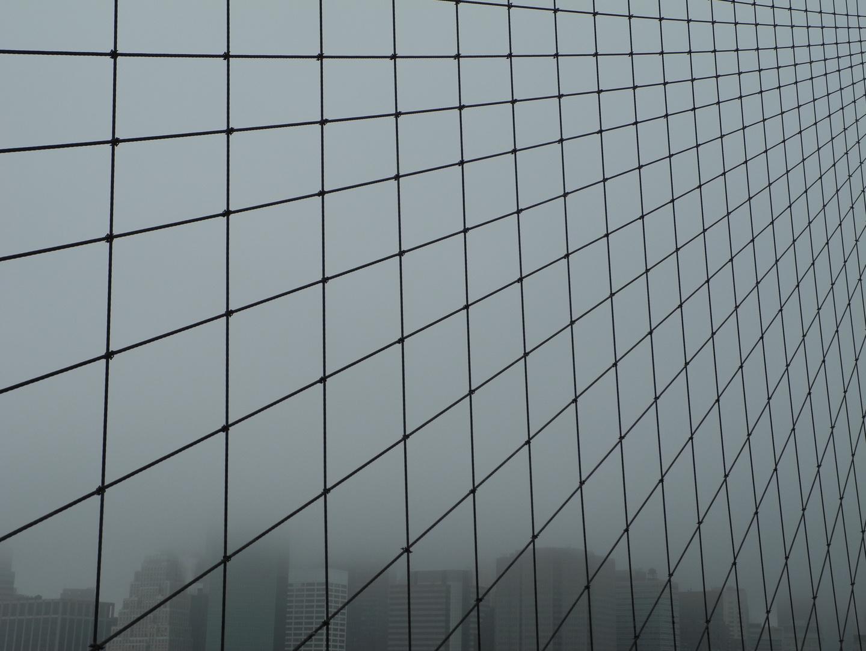 Brooklyn bridge & fog