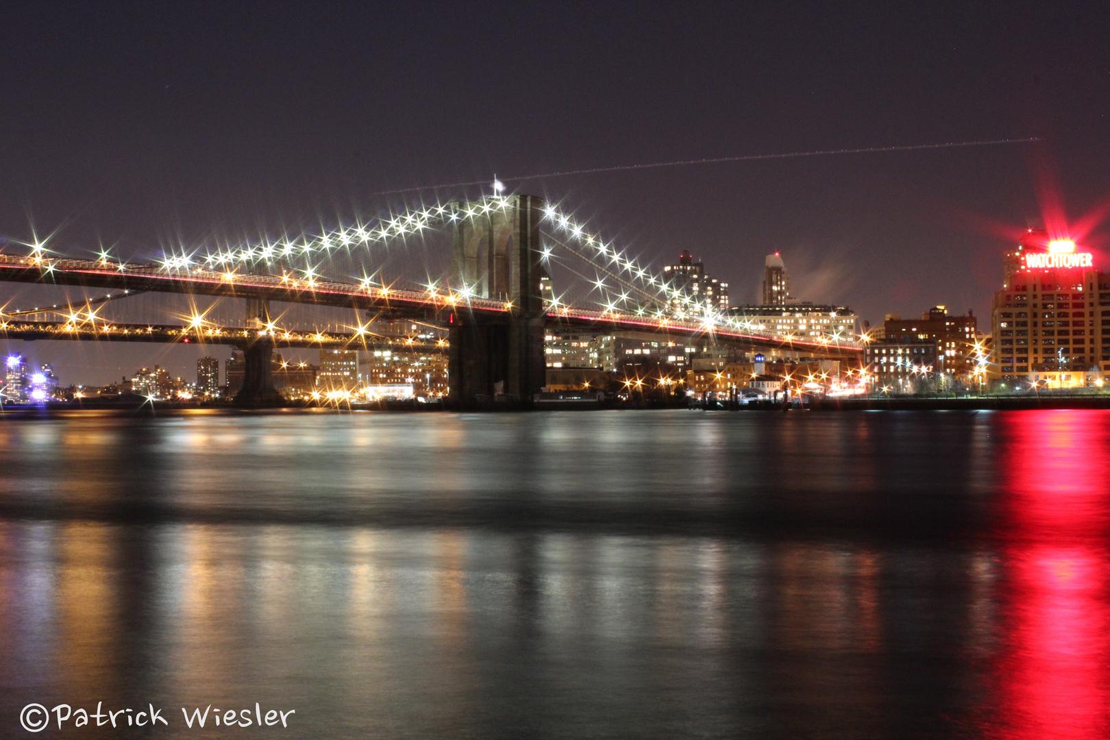Brooklyn Bridge Nacht