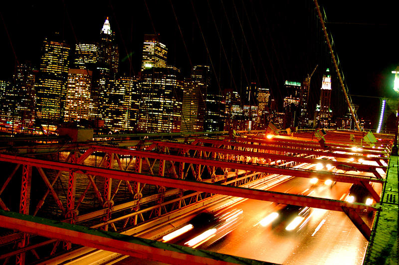 Brooklyn Bridge Nachts