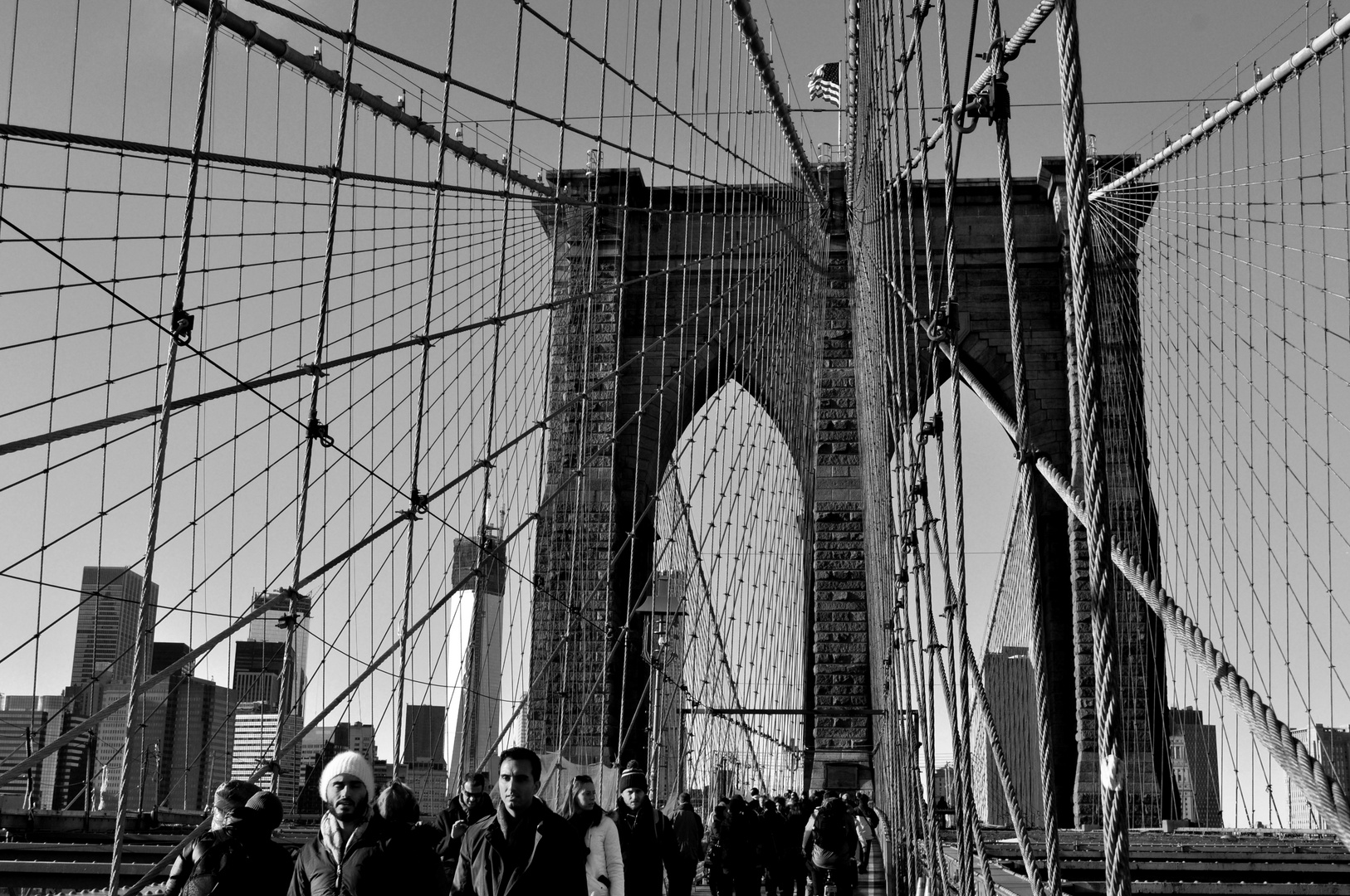 Brooklyn Bridge - New York City - Manhatten - Brooklyn