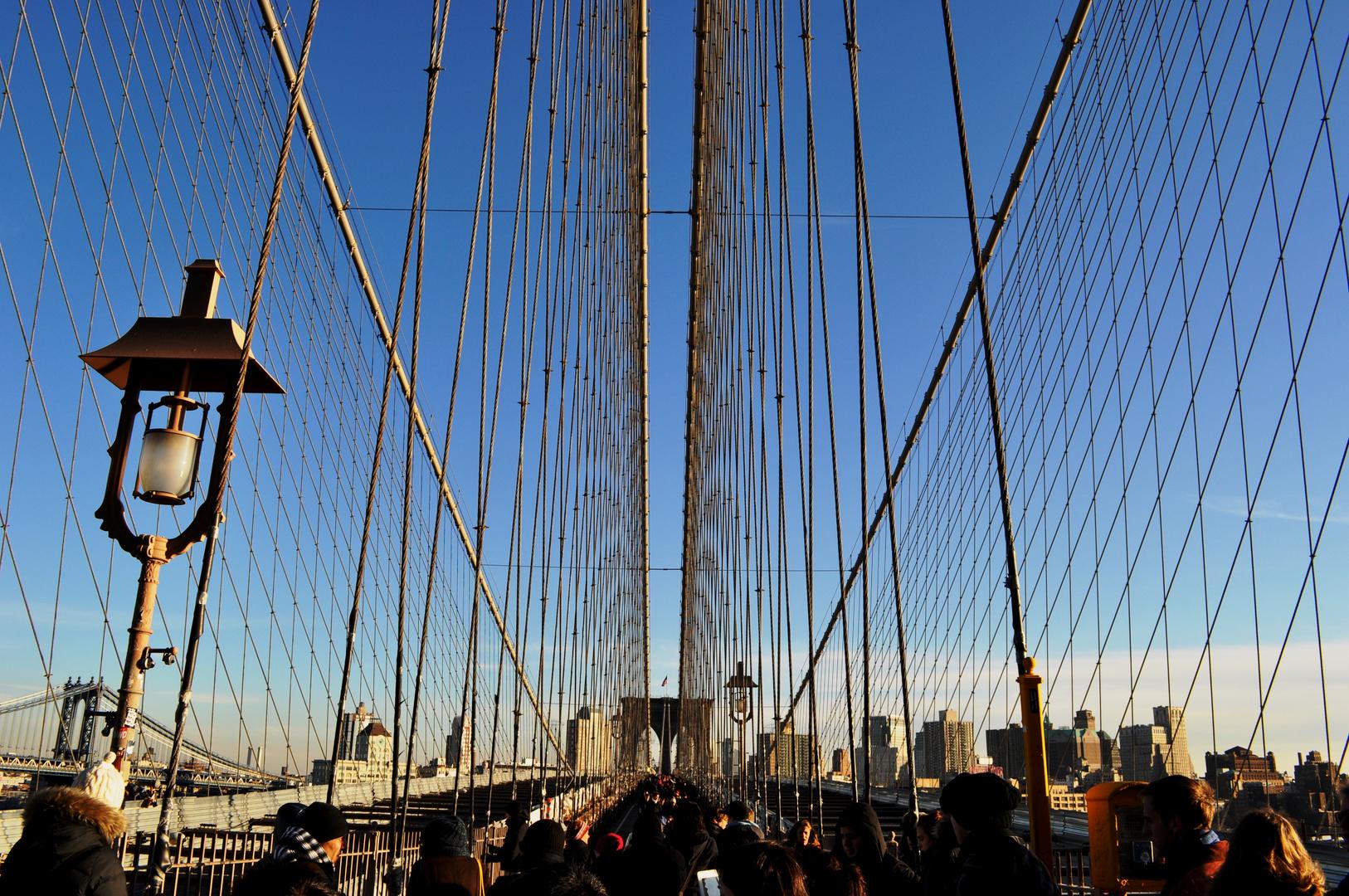 Brooklyn Bridge - New York City - Manhatten - Brooklyn - USA