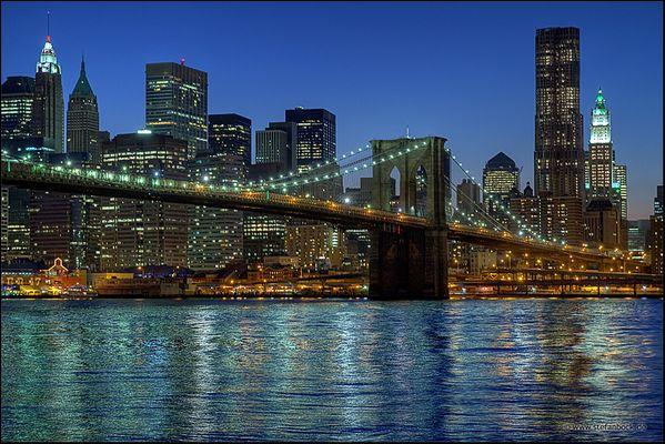 Brooklyn Bridge, New York City Serie XII