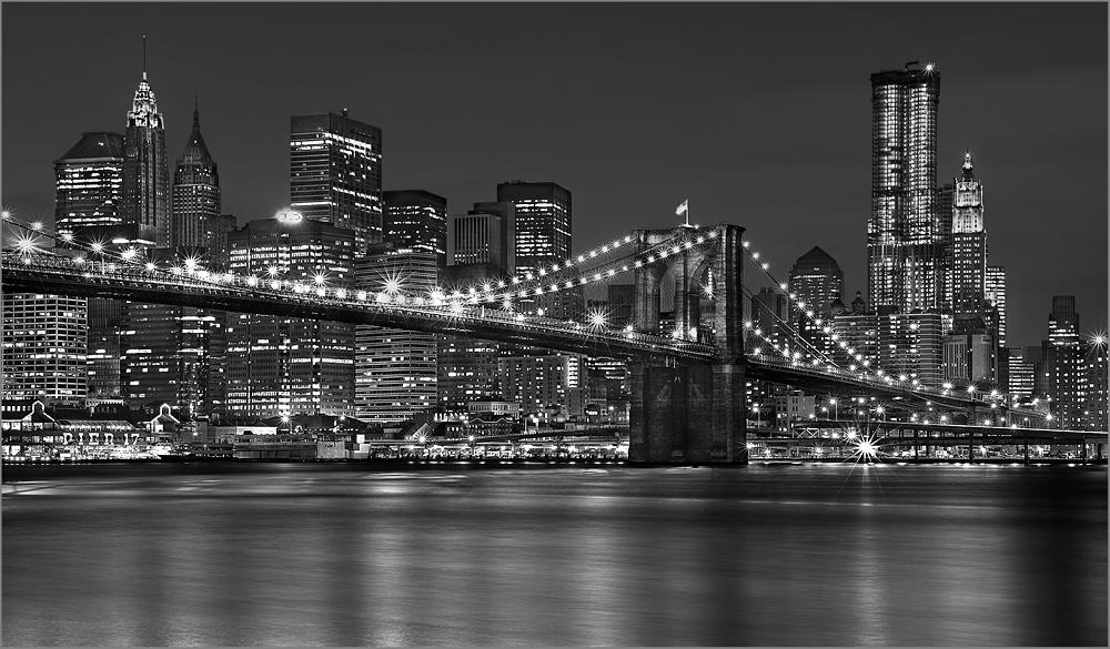 brooklyn bridge s w foto bild north america united states new york state bilder auf. Black Bedroom Furniture Sets. Home Design Ideas