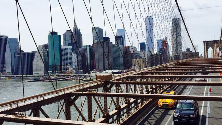 Brooklyn Bridge Vew