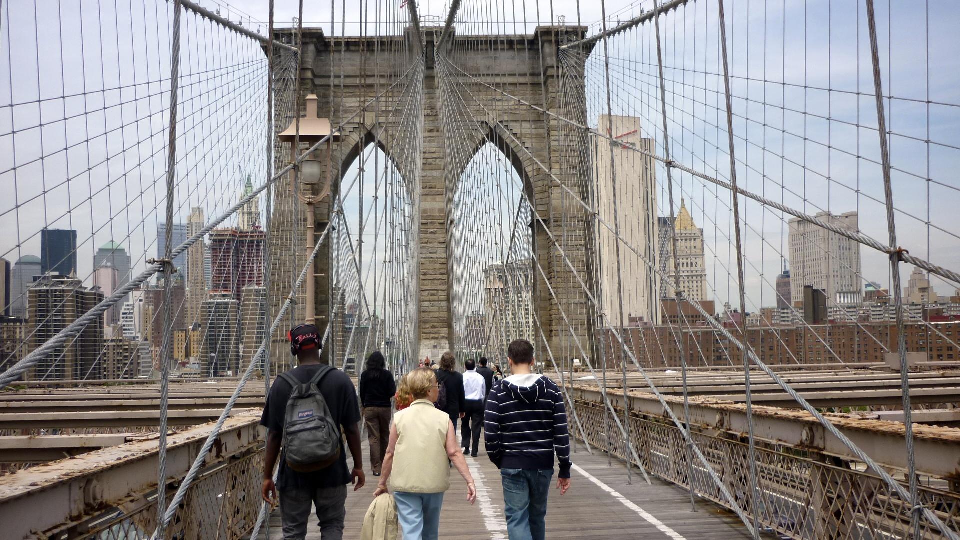Brooklyn Bridge,New York