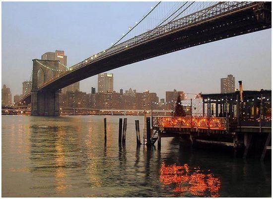 Brooklynbridge by night!