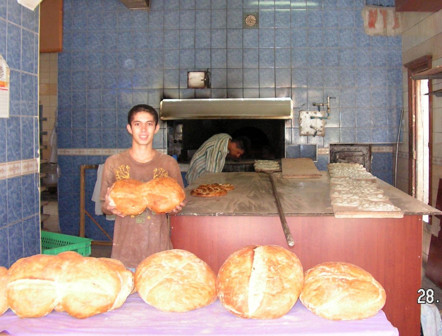 Brootbäckerei in Serik-Türkei