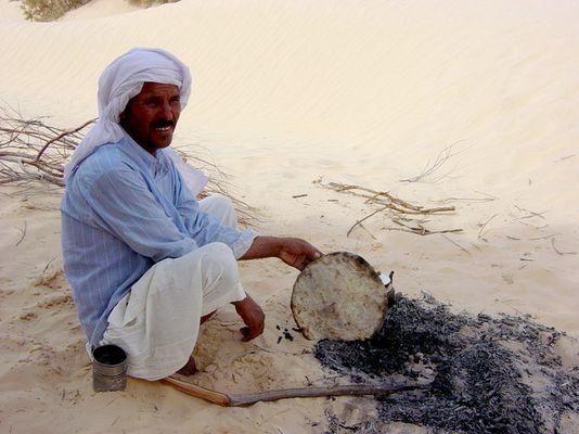 Brot backen in der Wüste