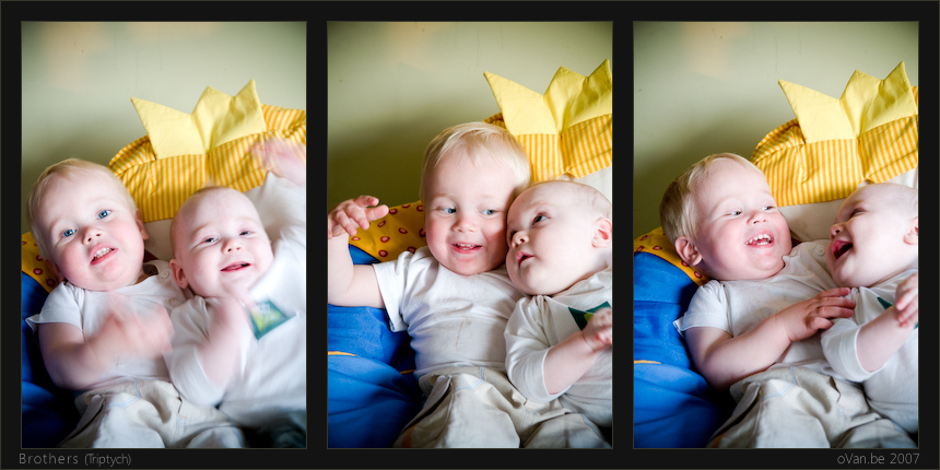 Brothers (Triptych)