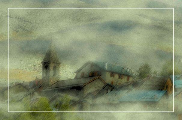 Brouillard sur le Village