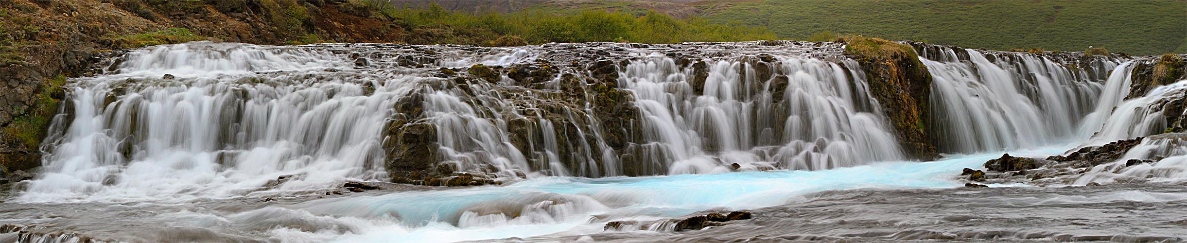 Brúarfoss - Gruß aus Island