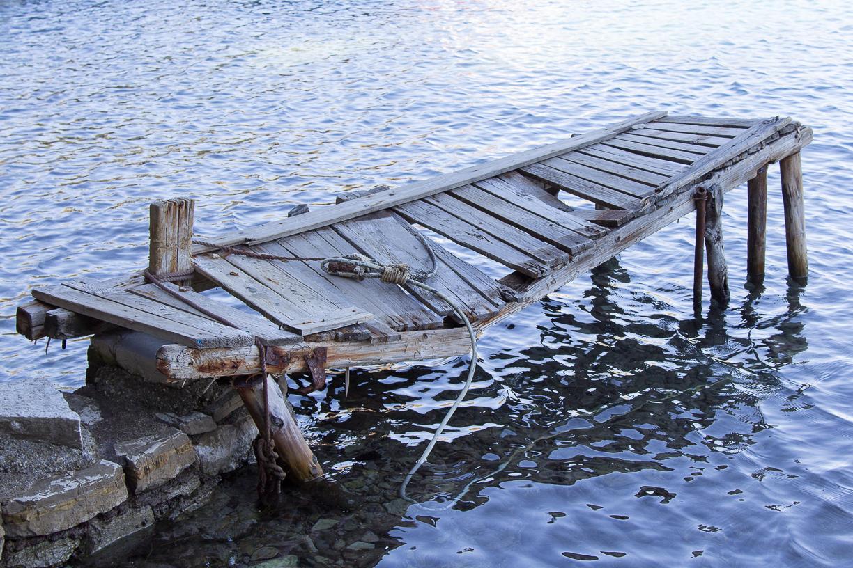 Bruch und Dalles - Bootssteg