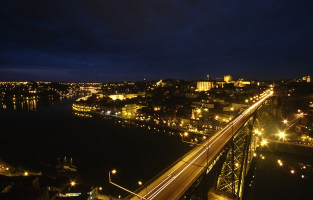 Brucke in Porto