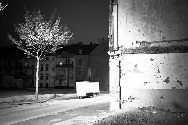 Bruckhausen, nachts