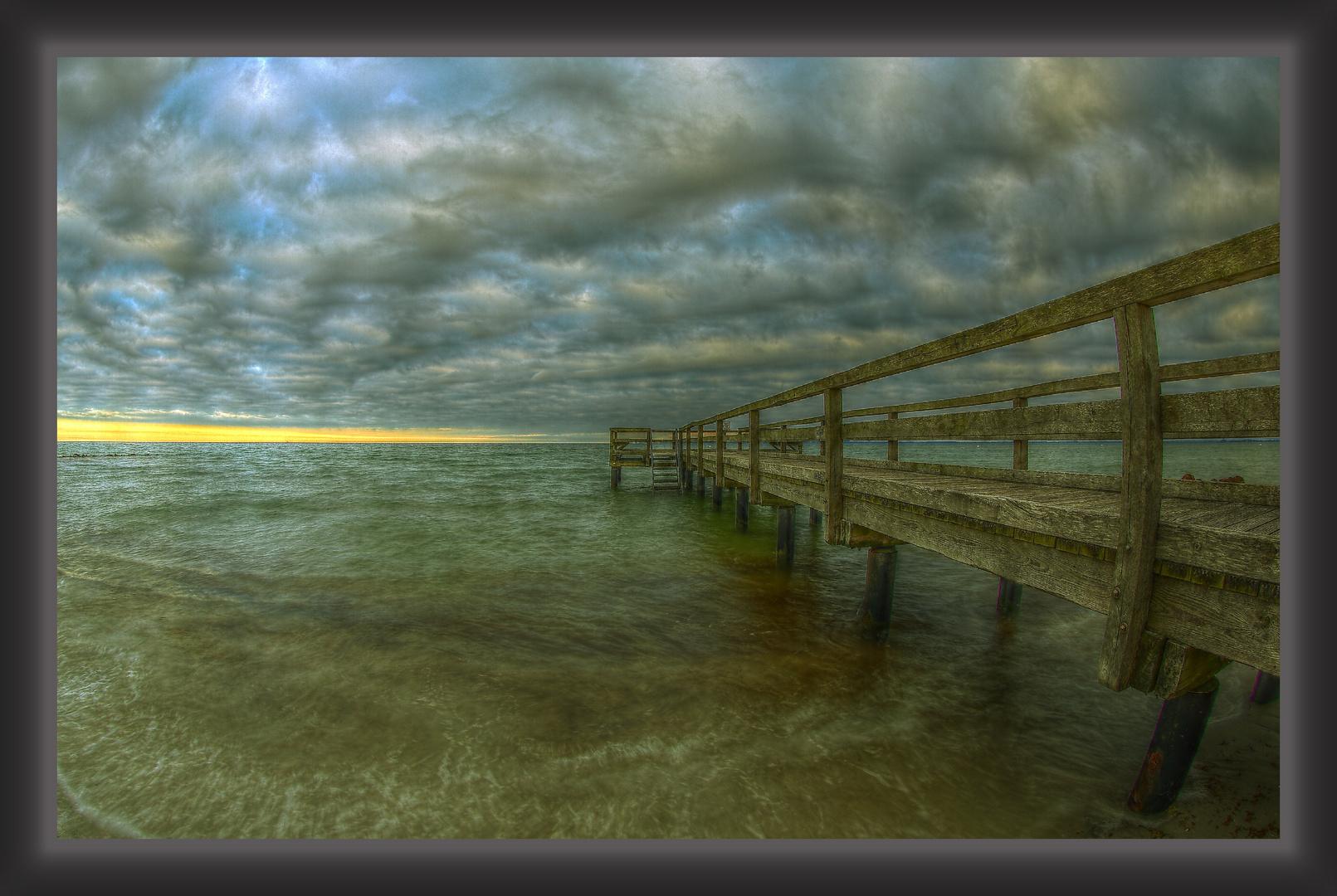 Brücke am Rettiner Strand