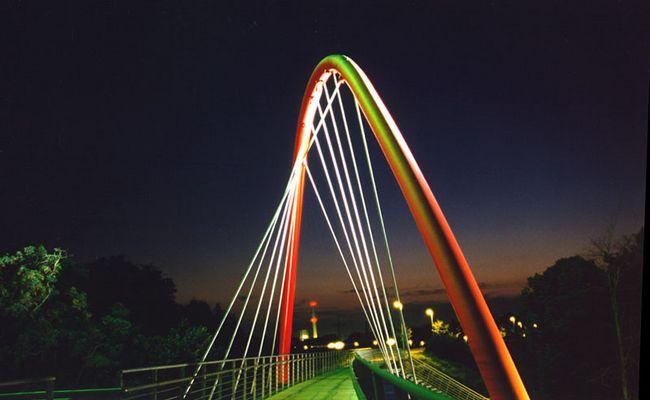 Brücke am Wasserturm