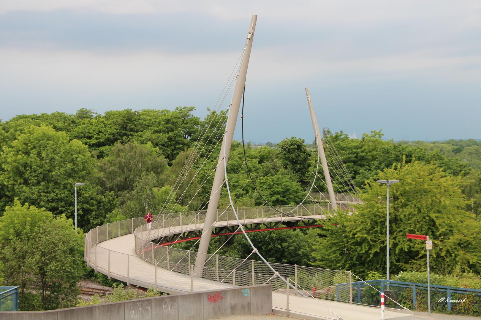 Brücke an der Jahrhunderthalle Bochum