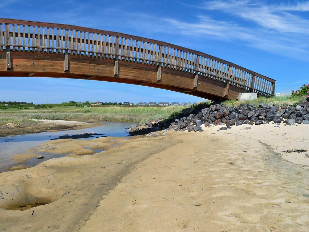 Brücke an Jückermarsch