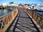 Brücke bei Playa Blanca