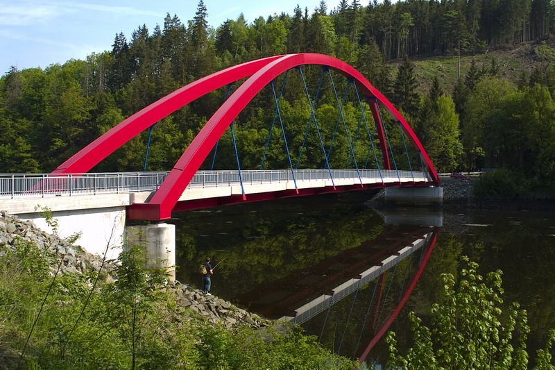 Brücke bei Schloß Burgk