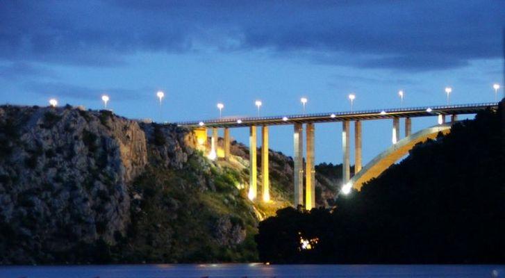Brücke bei Skradin. Kroatien