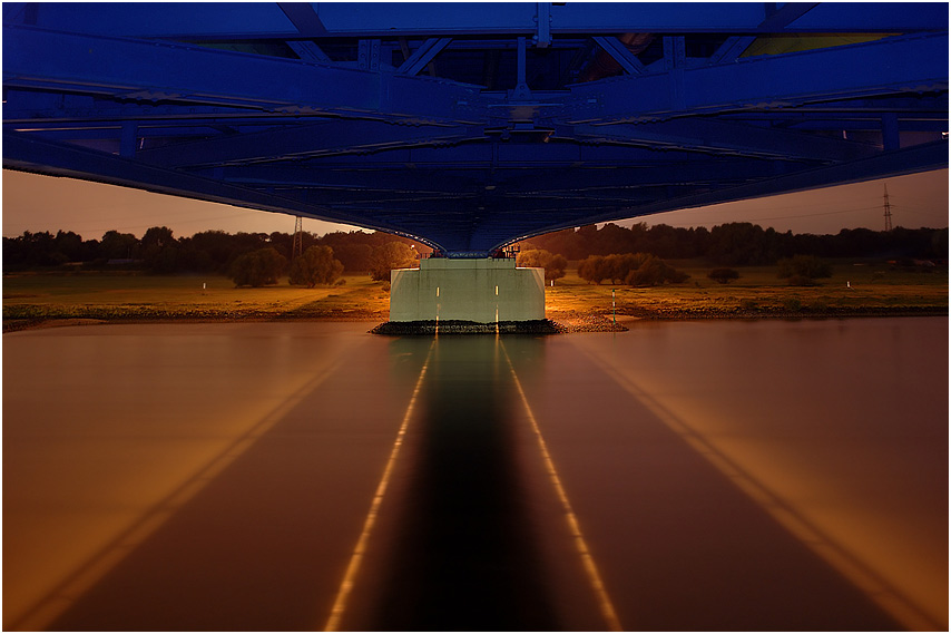 Brücke der Solidarität - Duisburg Rheinhausen