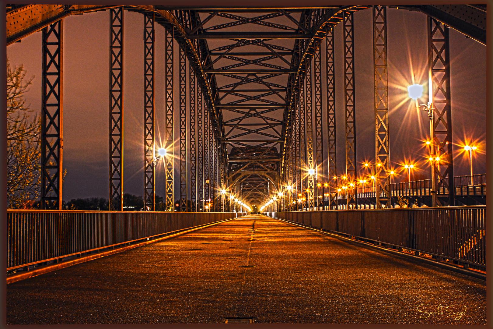 Brücke des 17. Juni ( Hamburg) @ night