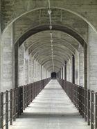Brücke des Radwegs bei Düdingen