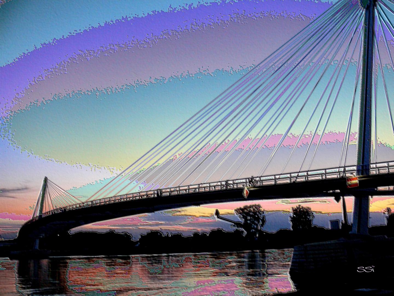 Brücke einmal anders