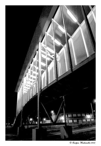Brücke für Fußgänger