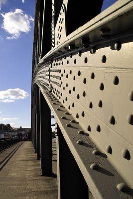 Brücke im Hafen