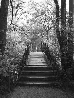 Brücke im Hofgarten Bayreuth