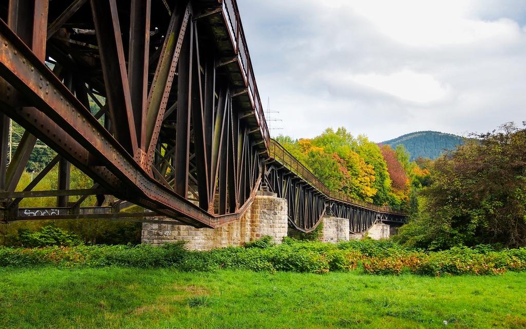 Brücke im Lennetal bei Plettenberg