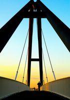 Brücke im Medienhafen
