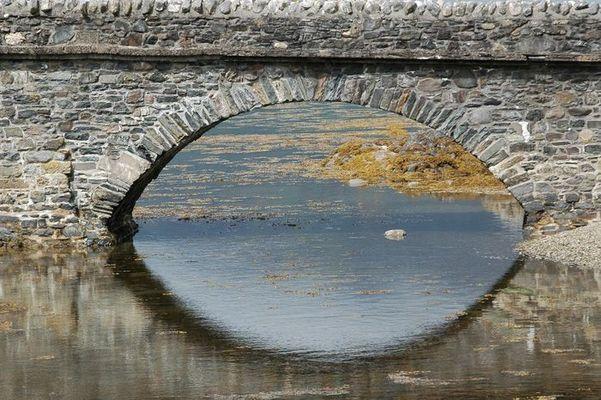Brücke im Wasser...