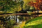 Brücke im Wildpark in Dülmen
