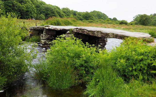 Brücke in Dartmoor....