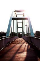 Brücke in der Sonne
