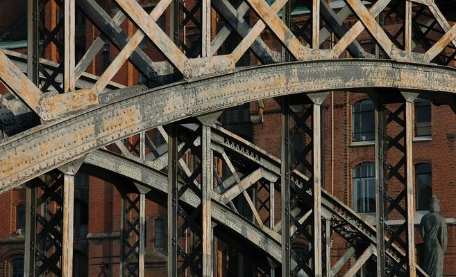 Brücke in der Speicherstadt #2