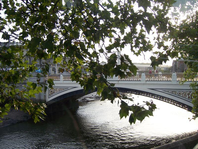 Brücke in Dublin