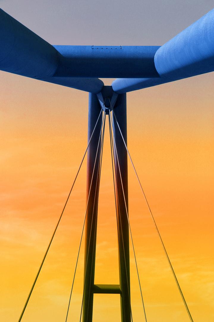 Brücke in Farbe