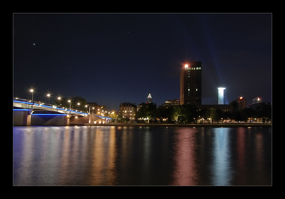Brücke in Frankfurt