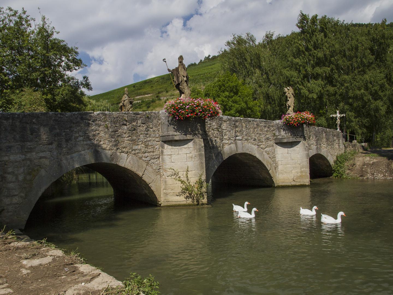 Brücke in Gerlachsheim bei Tauberbischofsheim