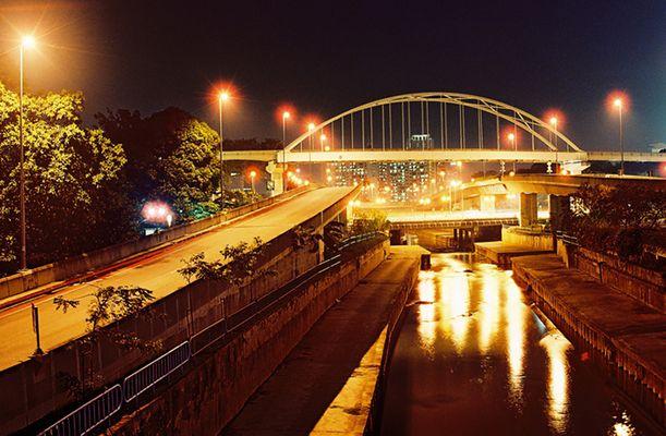Brücke in Kuala Lumpur