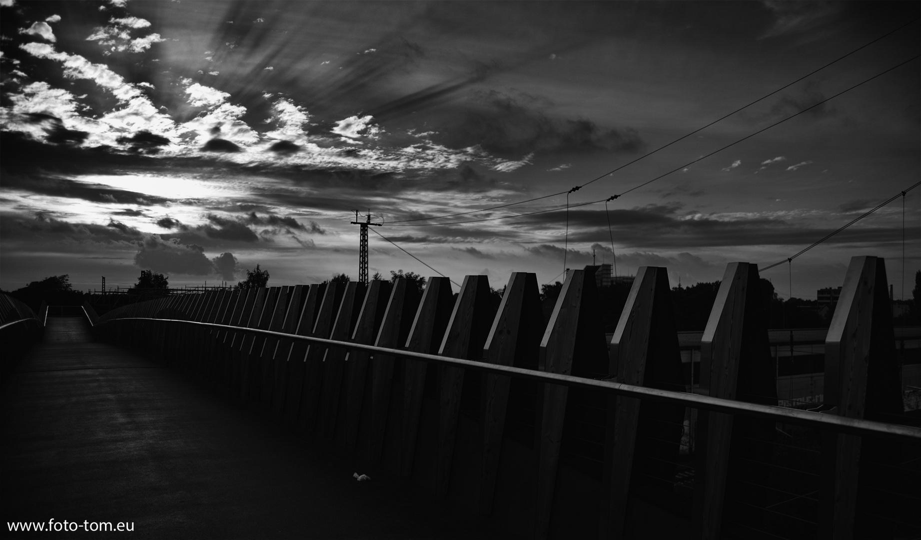 Brücke in Leverkusen 2