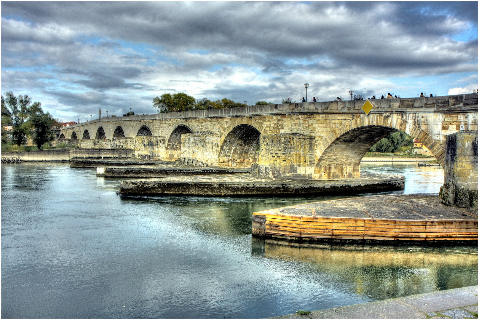 Brücke in Regensburg