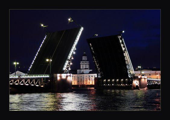 Brücke in Sankt Petersburg