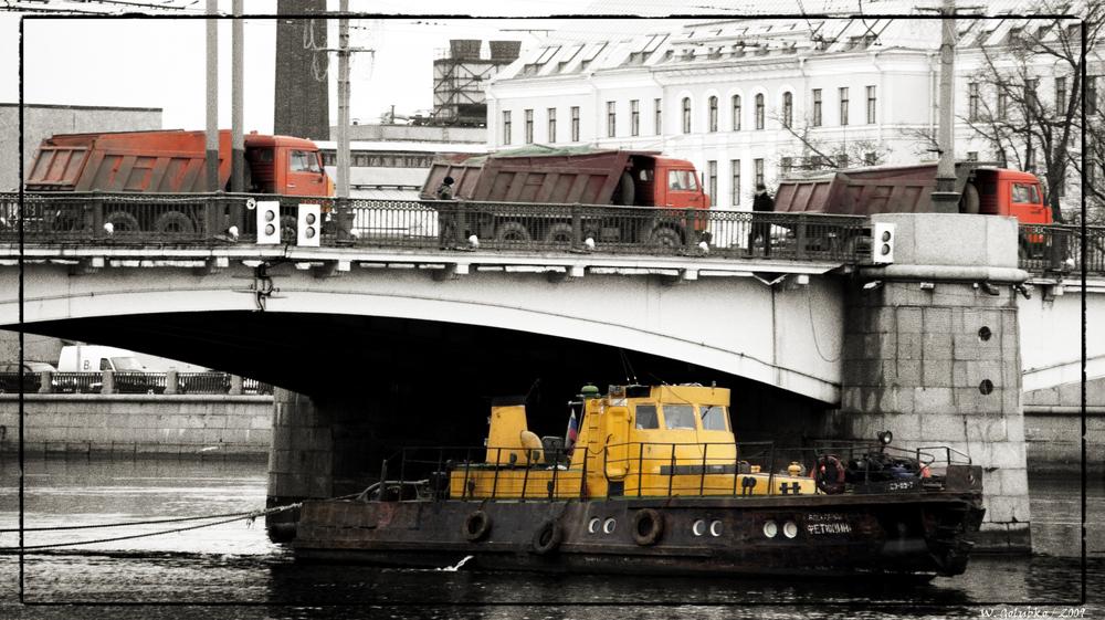 Brücke in St Petersburg